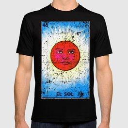 El Sol Mexican Loteria Bingo Card T-shirt