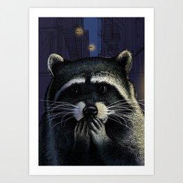 Urban raider Art Print