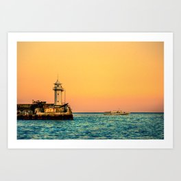 Old Lighthouse Art Print
