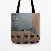door Tote Bags featuring Door by constarlation