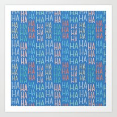 Pattern Project #9 / Funny Pattern Art Print