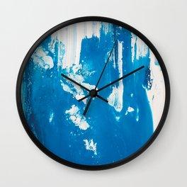 Painterly Iceland 2 Wall Clock