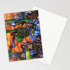 Blue Flower festival Stationery Cards