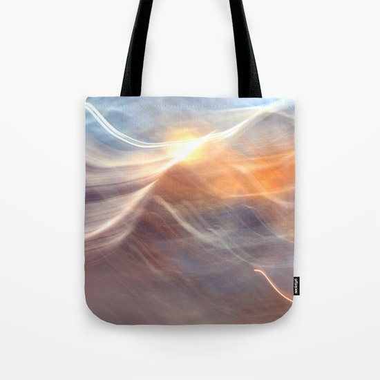 Earth , Wind & Fire (abstract) Tote Bag