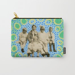 Playing With Soap Bubbles Carry-All Pouch