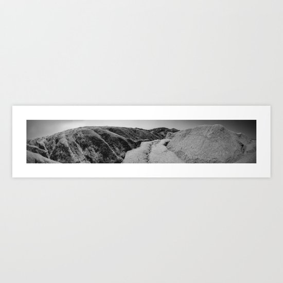 Martian Soil Art Print
