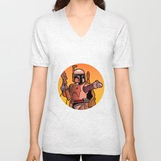 Boba Fire Unisex V-Neck