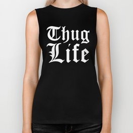THUG LIFE (Red) Biker Tank