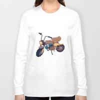 honda Long Sleeve T-shirts featuring #1 honda z50 by Brownjames Prints