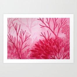 Memory Landscape 12 Art Print