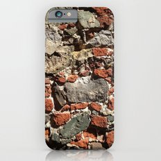 Rock Wall, Pattern, Virgin Islands, West Indian Slim Case iPhone 6s