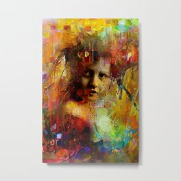 First time you looked at me Metal Print
