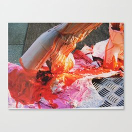 Strut Canvas Print