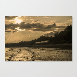 Sunset Pacer  Canvas Print