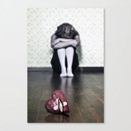 bleeding heart Canvas Print