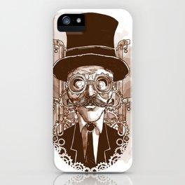 Steampunkium (1) iPhone Case