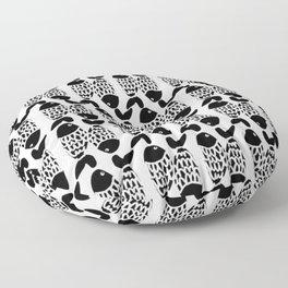 Weird fishes Floor Pillow