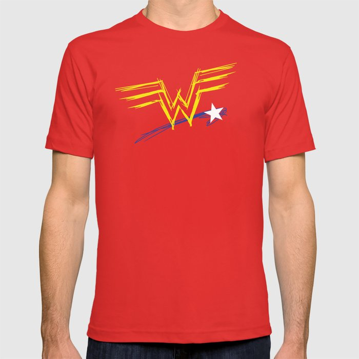 Diana Prince: Raw T-shirt