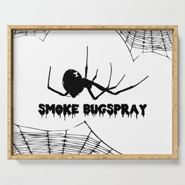 Smoke Bugspray Serving Tray