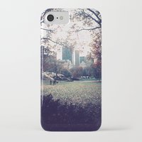 central park iPhone & iPod Cases featuring Central Park by The Clutter Monkey