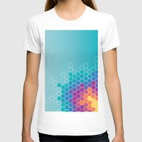 honeycomb T-shirts featuring Honeycomb by AleyshaKate