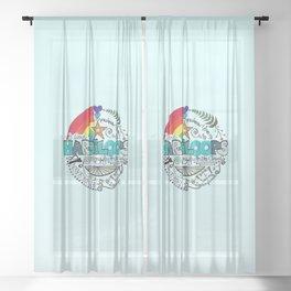 Hargiloops Sheer Curtain