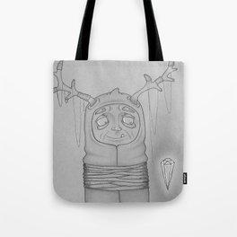 Captive Guy Spirit Animal Tote Bag