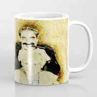 marx Mugs featuring MARX BROTHERS - 004 by Lazy Bones Studios