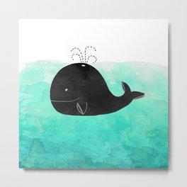 Cetacea Metal Print