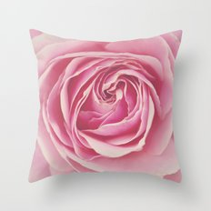 Rosy Throw Pillow