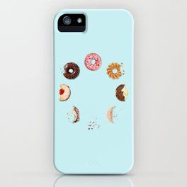 Donut Phases iPhone Case