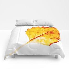 BE LIKE A LEAF #4 Comforters
