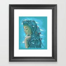 Siren of the Seas Framed Art Print
