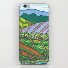 Colored Hills iPhone & iPod Skin