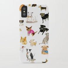 adopt a dog Slim Case iPhone X