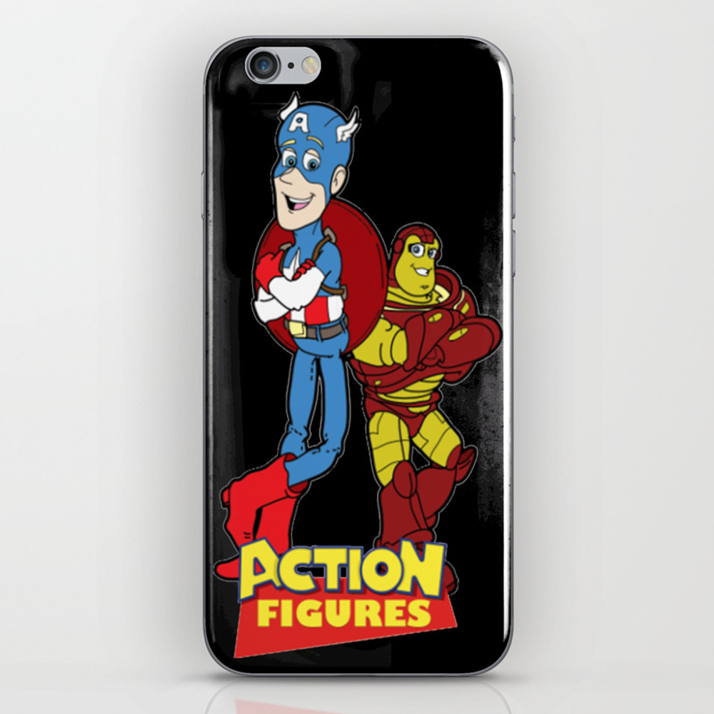 Action Figures Iphone & Ipod Skin by Tranthuthuayhrng PSK7823717