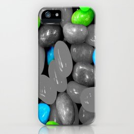 Blue jelly iPhone Case