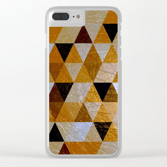 Abstract #352 Clear iPhone Case