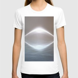 UFO  Over Water T-shirt
