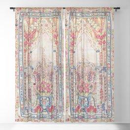 Banya Luka Bosnian Wall Hanging Print Sheer Curtain