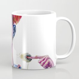 Red Moon that points eaten or spitted by the Symbolic Fish of Fate. Coffee Mug