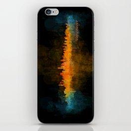Vancouver Canada City Skyline Hq v04 dark iPhone Skin