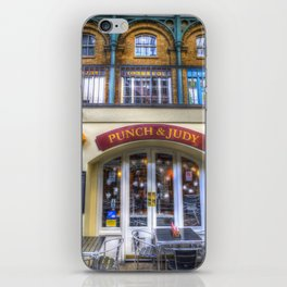 The Punch And Judy Pub Covent Garden iPhone Skin