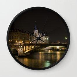 Castel Conciergerie and Bridge of Change Wall Clock