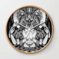 Sacred Ascetic Wall Clock