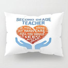 2nd Grade Teacher Pillow Sham