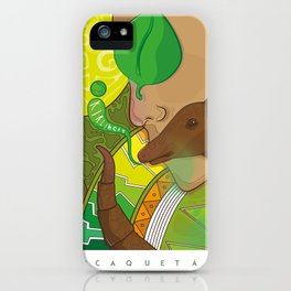 Kirkincho iPhone Case
