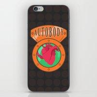 bioshock infinite iPhone & iPod Skins featuring Betterman's Autobody - Bioshock Infinite by Jacob Hansen