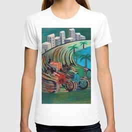 Grand Prix Racing, Monaco by Pippo Rizzo T-shirt