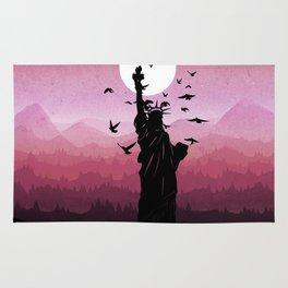 Liberty Enlightening the World Rug